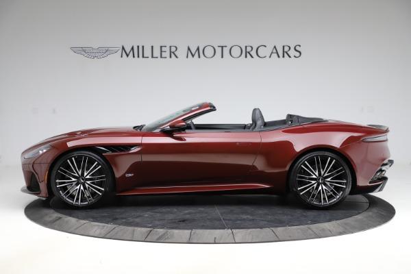 New 2021 Aston Martin DBS Superleggera Volante Convertible for sale $362,486 at Aston Martin of Greenwich in Greenwich CT 06830 2