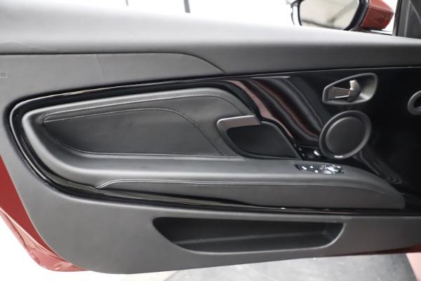 New 2021 Aston Martin DBS Superleggera Volante for sale $362,486 at Aston Martin of Greenwich in Greenwich CT 06830 23