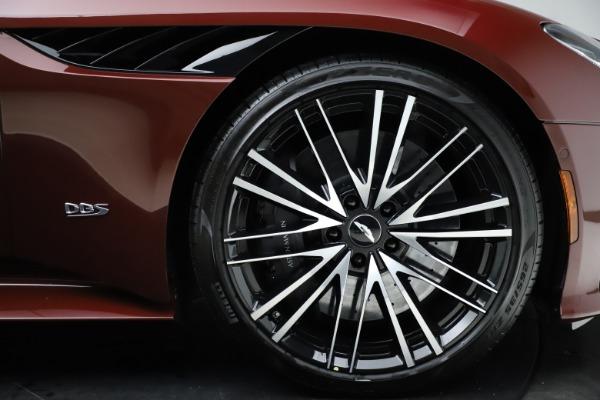 New 2021 Aston Martin DBS Superleggera Volante Convertible for sale $362,486 at Aston Martin of Greenwich in Greenwich CT 06830 24