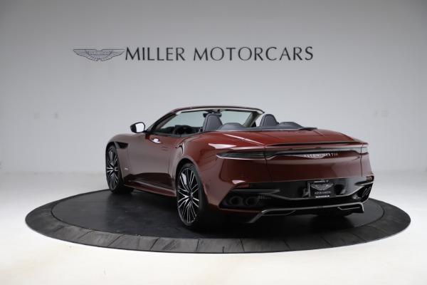 New 2021 Aston Martin DBS Superleggera Volante Convertible for sale $362,486 at Aston Martin of Greenwich in Greenwich CT 06830 4
