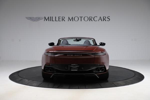 New 2021 Aston Martin DBS Superleggera Volante Convertible for sale $362,486 at Aston Martin of Greenwich in Greenwich CT 06830 5