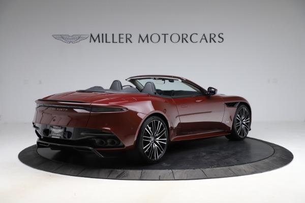 New 2021 Aston Martin DBS Superleggera Volante for sale $362,486 at Aston Martin of Greenwich in Greenwich CT 06830 7