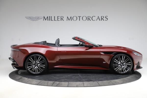 New 2021 Aston Martin DBS Superleggera Volante Convertible for sale $362,486 at Aston Martin of Greenwich in Greenwich CT 06830 8