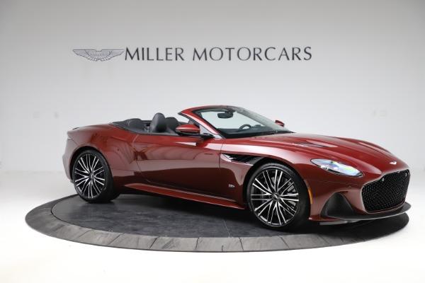 New 2021 Aston Martin DBS Superleggera Volante Convertible for sale $362,486 at Aston Martin of Greenwich in Greenwich CT 06830 9