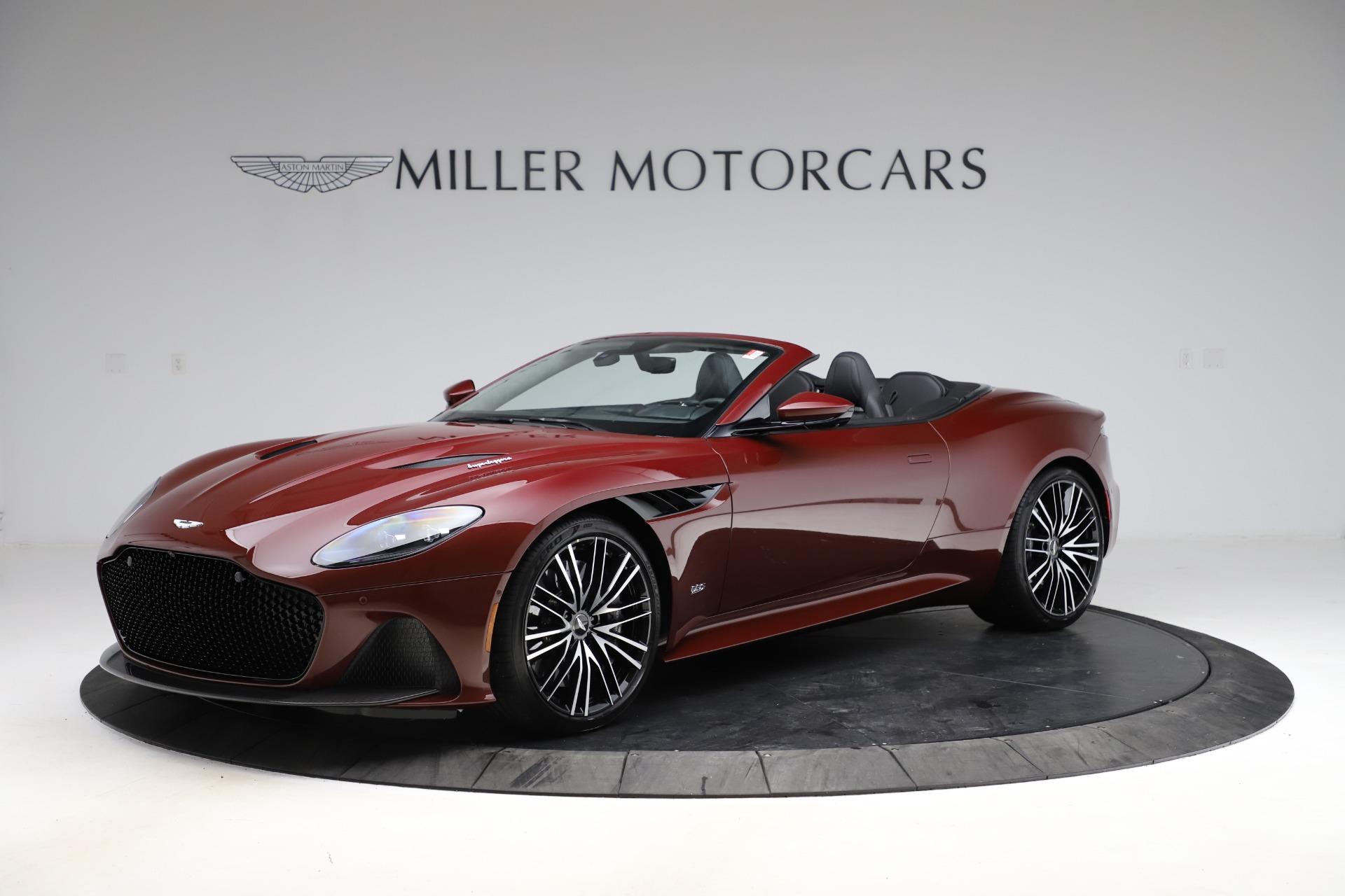 New 2021 Aston Martin DBS Superleggera Volante for sale $362,486 at Aston Martin of Greenwich in Greenwich CT 06830 1