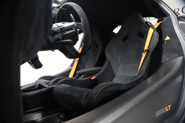 Used 2019 McLaren 600LT Coupe for sale $229,900 at Aston Martin of Greenwich in Greenwich CT 06830 21