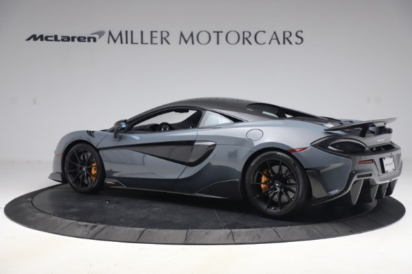 Used 2019 McLaren 600LT Coupe for sale $229,900 at Aston Martin of Greenwich in Greenwich CT 06830 3