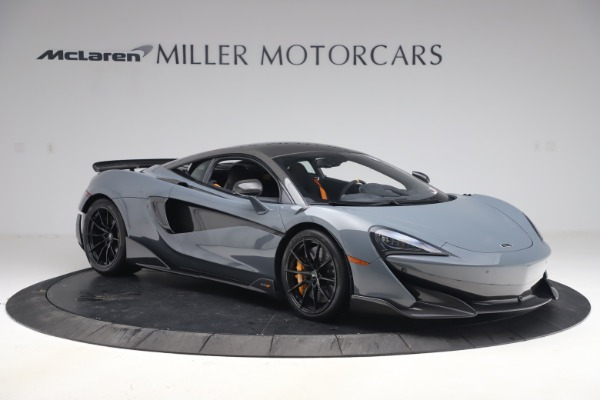 Used 2019 McLaren 600LT Coupe for sale $229,900 at Aston Martin of Greenwich in Greenwich CT 06830 9