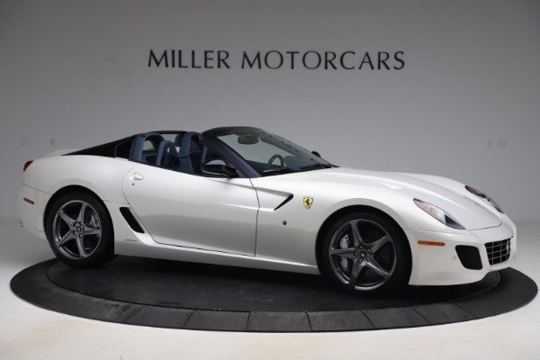 Used 2011 Ferrari 599 SA Aperta for sale $1,379,000 at Aston Martin of Greenwich in Greenwich CT 06830 10