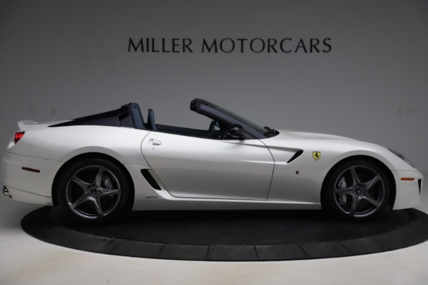 Used 2011 Ferrari 599 SA Aperta for sale $1,379,000 at Aston Martin of Greenwich in Greenwich CT 06830 9