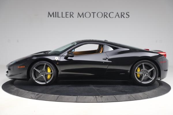 Used 2012 Ferrari 458 Italia for sale Sold at Aston Martin of Greenwich in Greenwich CT 06830 3