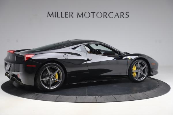 Used 2012 Ferrari 458 Italia for sale Sold at Aston Martin of Greenwich in Greenwich CT 06830 8