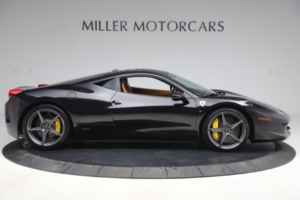 Used 2012 Ferrari 458 Italia for sale Sold at Aston Martin of Greenwich in Greenwich CT 06830 9