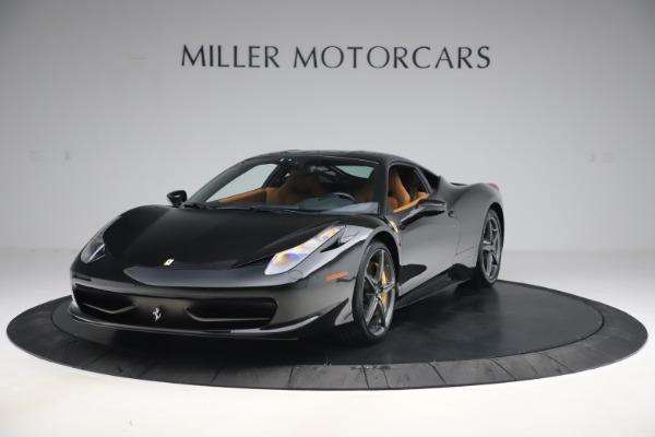 Used 2012 Ferrari 458 Italia for sale Sold at Aston Martin of Greenwich in Greenwich CT 06830 1