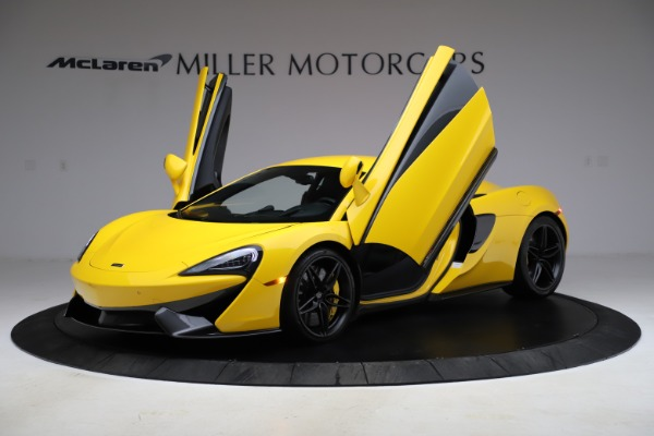 Used 2016 McLaren 570S Coupe for sale $139,900 at Aston Martin of Greenwich in Greenwich CT 06830 12