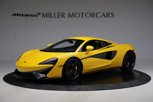 Used 2016 McLaren 570S Coupe for sale $139,900 at Aston Martin of Greenwich in Greenwich CT 06830 1