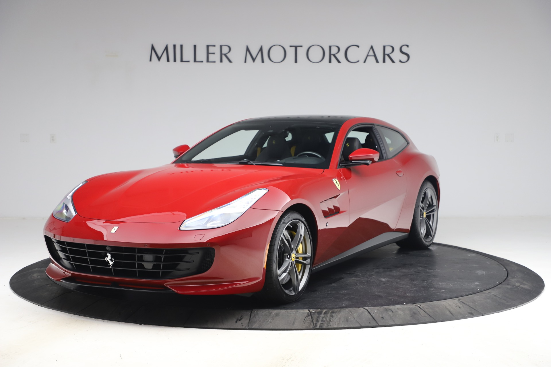 Used 2019 Ferrari GTC4Lusso for sale Call for price at Aston Martin of Greenwich in Greenwich CT 06830 1