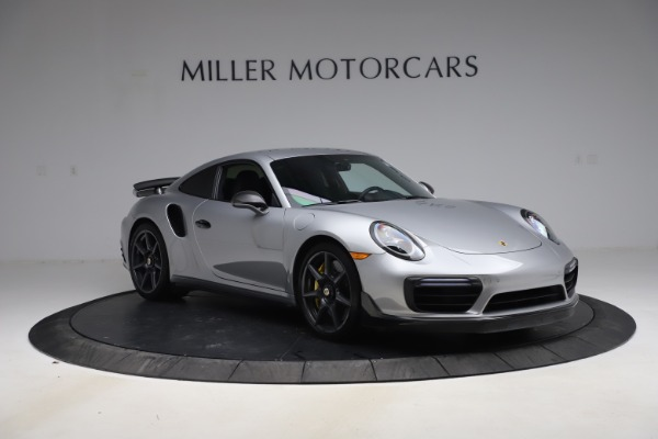 Used 2019 Porsche 911 Turbo S for sale $177,900 at Aston Martin of Greenwich in Greenwich CT 06830 11