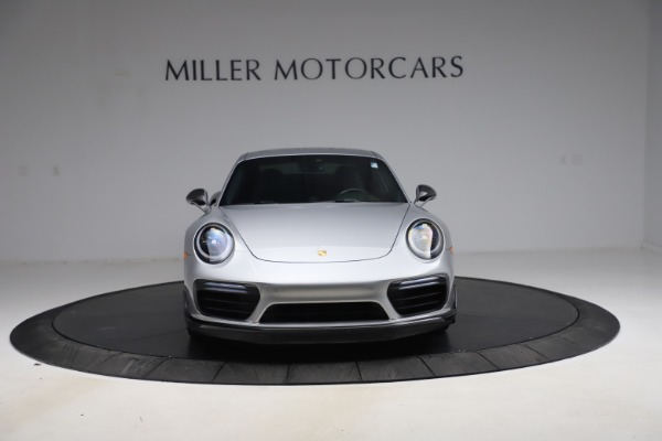 Used 2019 Porsche 911 Turbo S for sale $177,900 at Aston Martin of Greenwich in Greenwich CT 06830 12