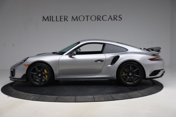 Used 2019 Porsche 911 Turbo S for sale $177,900 at Aston Martin of Greenwich in Greenwich CT 06830 3