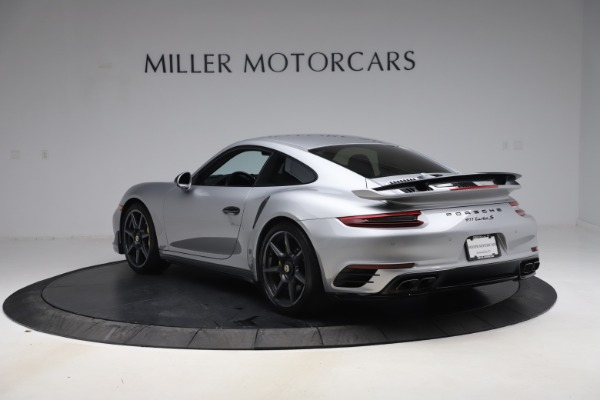 Used 2019 Porsche 911 Turbo S for sale $177,900 at Aston Martin of Greenwich in Greenwich CT 06830 5