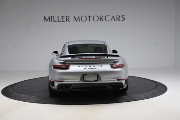 Used 2019 Porsche 911 Turbo S for sale $177,900 at Aston Martin of Greenwich in Greenwich CT 06830 6