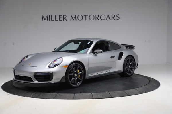 Used 2019 Porsche 911 Turbo S for sale $177,900 at Aston Martin of Greenwich in Greenwich CT 06830 1