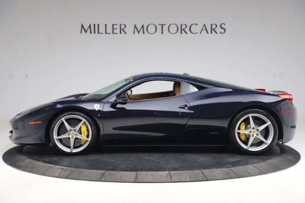Used 2011 Ferrari 458 Italia for sale Sold at Aston Martin of Greenwich in Greenwich CT 06830 3