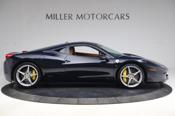 Used 2011 Ferrari 458 Italia for sale Sold at Aston Martin of Greenwich in Greenwich CT 06830 9