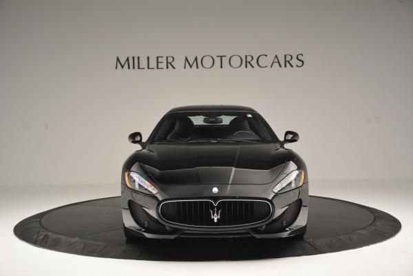Used 2013 Maserati GranTurismo Sport for sale Sold at Aston Martin of Greenwich in Greenwich CT 06830 12