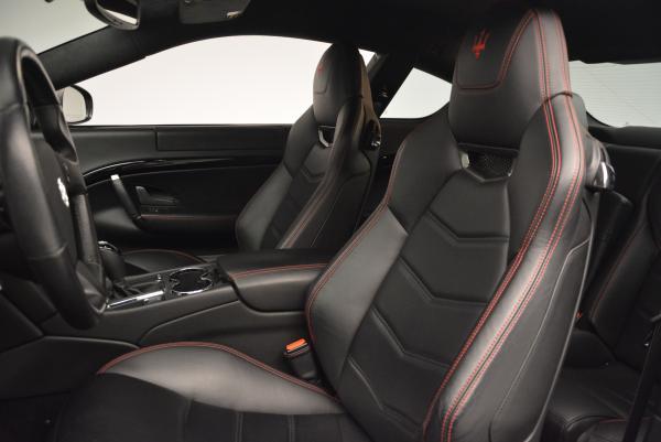 Used 2013 Maserati GranTurismo Sport for sale Sold at Aston Martin of Greenwich in Greenwich CT 06830 15