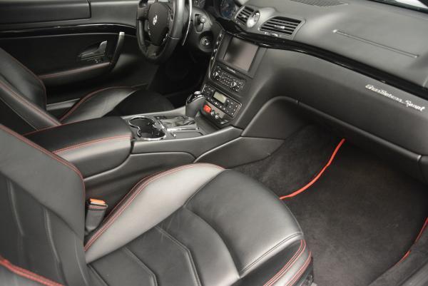 Used 2013 Maserati GranTurismo Sport for sale Sold at Aston Martin of Greenwich in Greenwich CT 06830 17