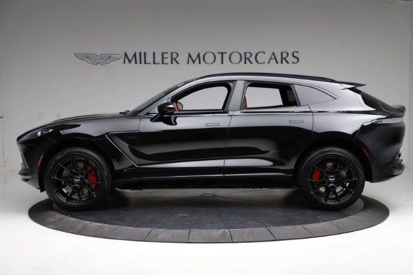 New 2021 Aston Martin DBX SUV for sale $200,986 at Aston Martin of Greenwich in Greenwich CT 06830 2