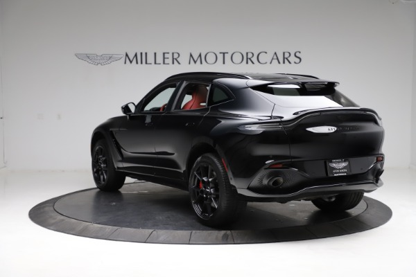 New 2021 Aston Martin DBX SUV for sale $200,986 at Aston Martin of Greenwich in Greenwich CT 06830 4