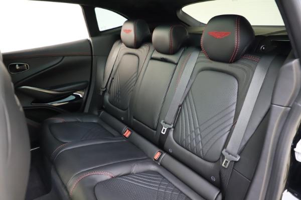 New 2021 Aston Martin DBX SUV for sale $212,686 at Aston Martin of Greenwich in Greenwich CT 06830 19