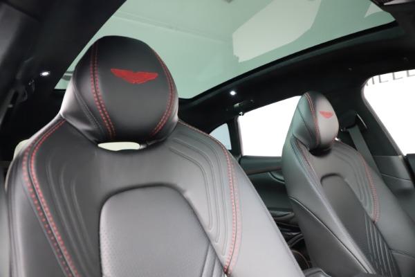 New 2021 Aston Martin DBX SUV for sale $212,686 at Aston Martin of Greenwich in Greenwich CT 06830 22