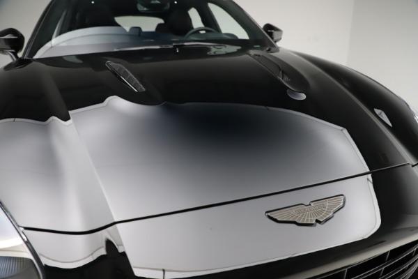 New 2021 Aston Martin DBX SUV for sale $212,686 at Aston Martin of Greenwich in Greenwich CT 06830 23