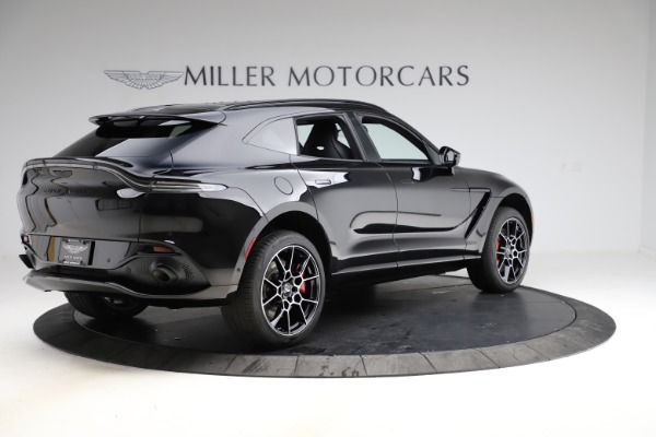 New 2021 Aston Martin DBX SUV for sale $212,686 at Aston Martin of Greenwich in Greenwich CT 06830 7