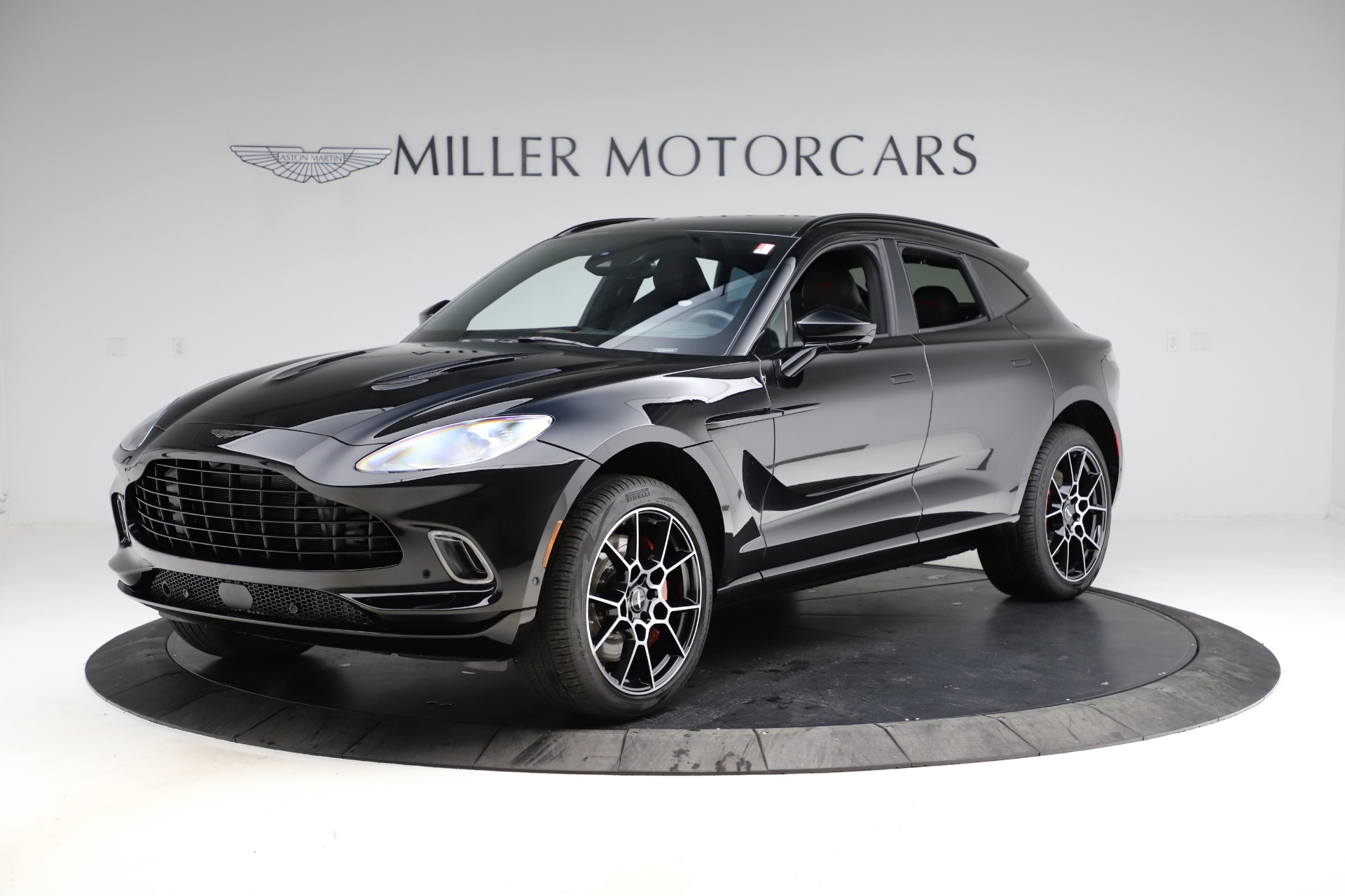 New 2021 Aston Martin DBX for sale $212,686 at Aston Martin of Greenwich in Greenwich CT 06830 1