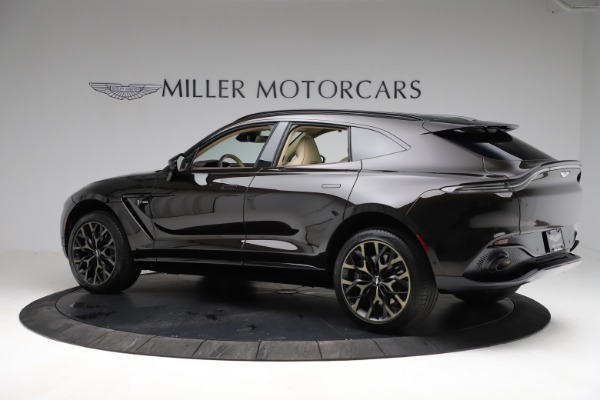 New 2021 Aston Martin DBX SUV for sale $215,386 at Aston Martin of Greenwich in Greenwich CT 06830 3