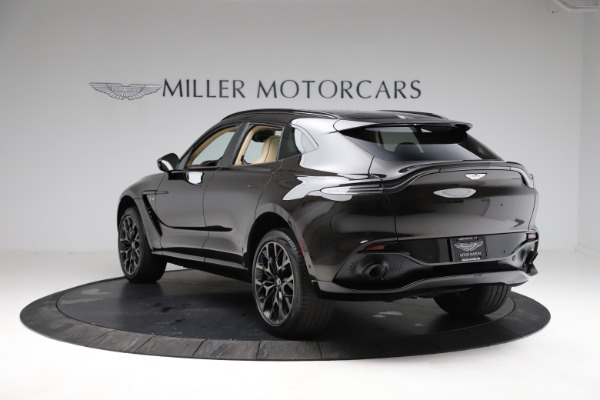 New 2021 Aston Martin DBX SUV for sale $215,386 at Aston Martin of Greenwich in Greenwich CT 06830 4