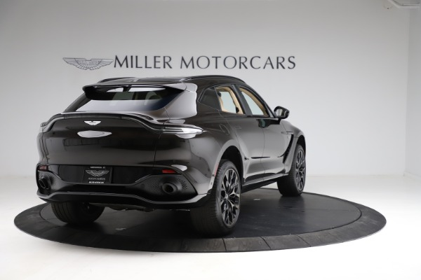 New 2021 Aston Martin DBX SUV for sale $215,386 at Aston Martin of Greenwich in Greenwich CT 06830 6