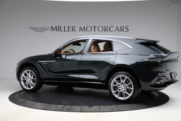New 2021 Aston Martin DBX SUV for sale $221,386 at Aston Martin of Greenwich in Greenwich CT 06830 3