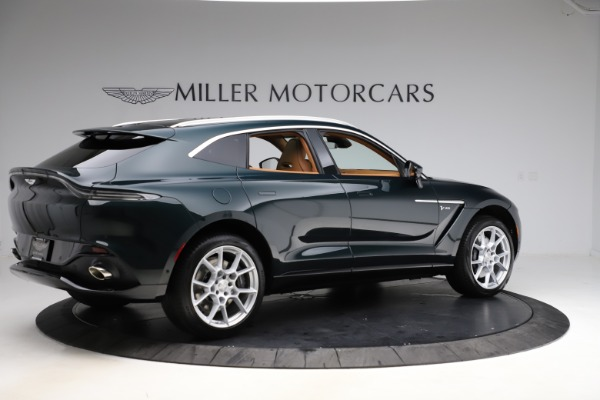 New 2021 Aston Martin DBX SUV for sale $221,386 at Aston Martin of Greenwich in Greenwich CT 06830 7