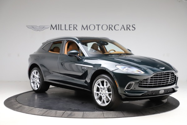 New 2021 Aston Martin DBX SUV for sale $221,386 at Aston Martin of Greenwich in Greenwich CT 06830 9