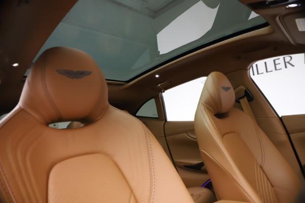 New 2021 Aston Martin DBX SUV for sale $264,386 at Aston Martin of Greenwich in Greenwich CT 06830 21