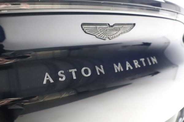 New 2021 Aston Martin DBX for sale $264,386 at Aston Martin of Greenwich in Greenwich CT 06830 25