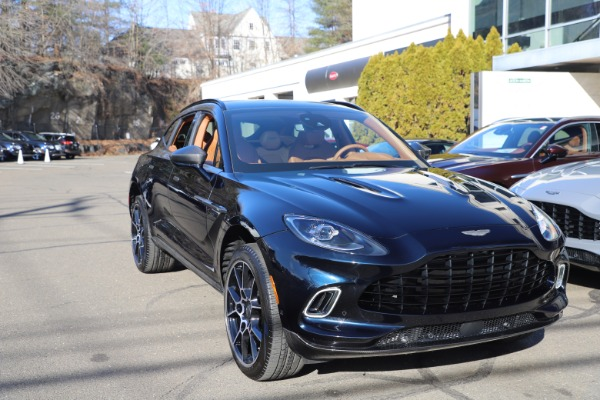 New 2021 Aston Martin DBX for sale $264,386 at Aston Martin of Greenwich in Greenwich CT 06830 28