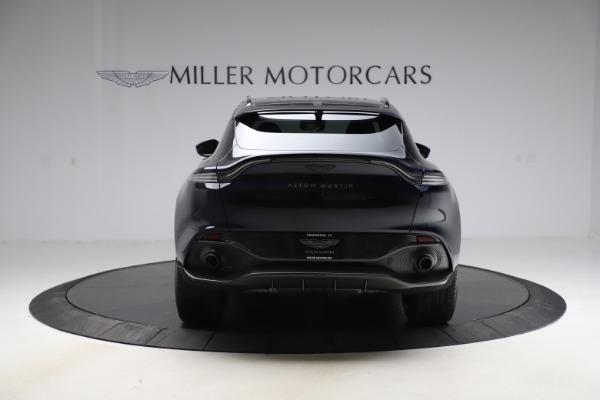 New 2021 Aston Martin DBX SUV for sale $264,386 at Aston Martin of Greenwich in Greenwich CT 06830 5
