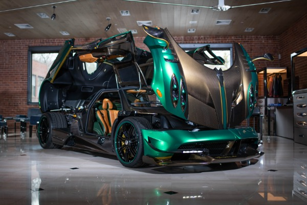 Used 2017 Pagani Huayra BC for sale Call for price at Aston Martin of Greenwich in Greenwich CT 06830 3